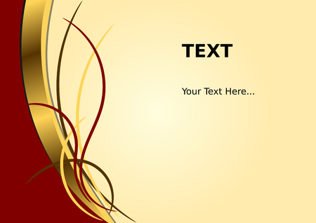 maroon: Abstract Background With Gold Style