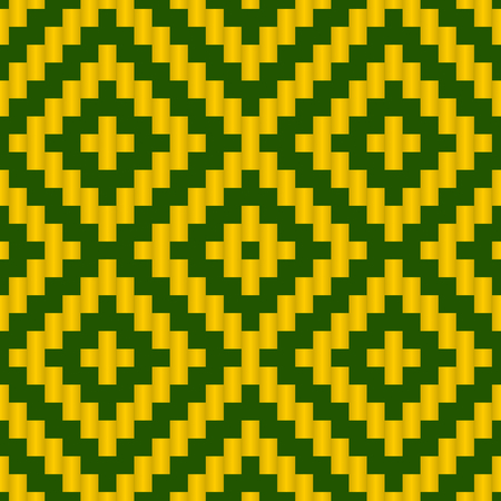 lattice: Geometric Lattice Weave Seamless Pattern