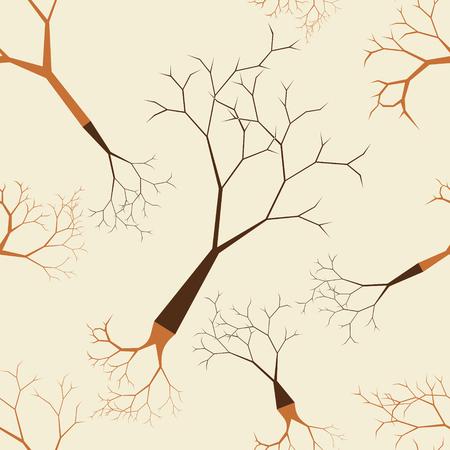leafless: Leafless Tree Seamless Pattern
