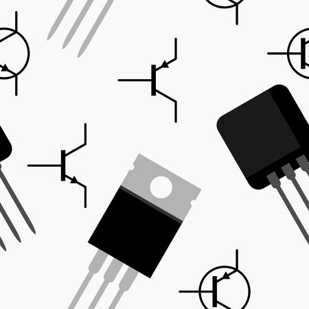 transistor: Modelo inconsútil del transistor