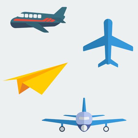 flat: Flat Aeroplanes