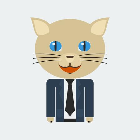 cat suit: Business Cat