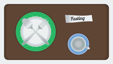 fasting: Fasting Illustration