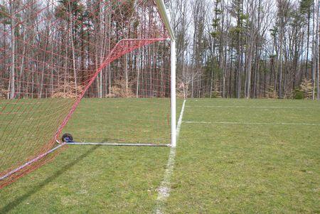 Soccer Goal 版權商用圖片