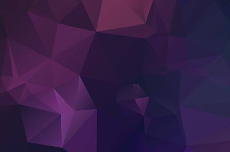blue purple Low poly crystal background. Polygon design pattern. blue purple Low poly vector illustration, low polygon background. purple background.