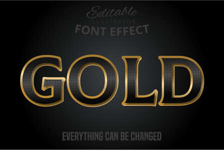 Black pattern text effect with silver extrude