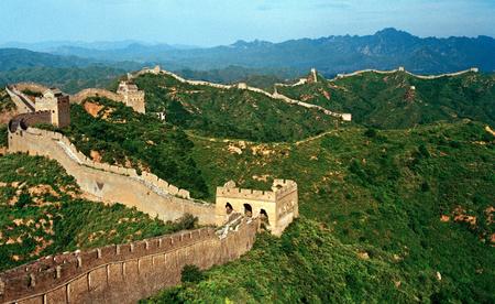 jinshanling: Jinshanling Great Wall Stock Photo