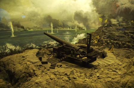 Sino-Japanese naval battle