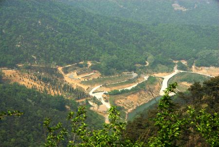 basin mountain: Basin at the mountain