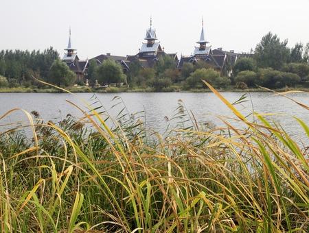 volga: Volga Manor Stock Photo