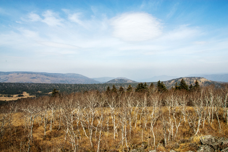 Fenghuang Mountain autumn scenery Stock Photo