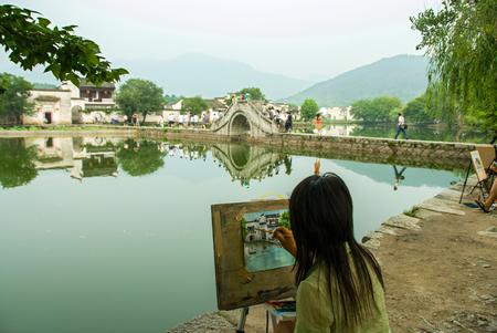 Hongcun sketching