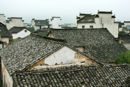 Xidi Hongcun 版權商用圖片