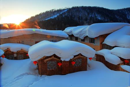 China snow Township
