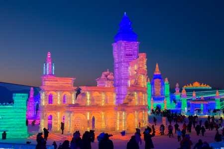 Chinas 20th Harbin Ice and Snow World