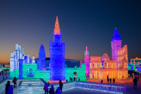 Chinas 20th Harbin Ice and Snow World