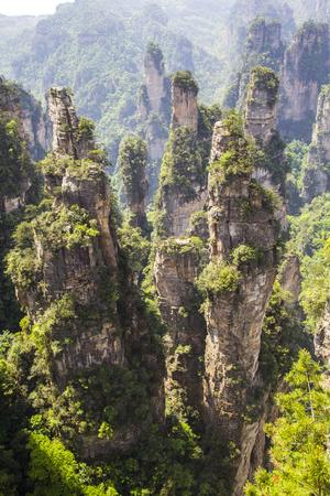 Zhangjiajie scenery 免版税图像