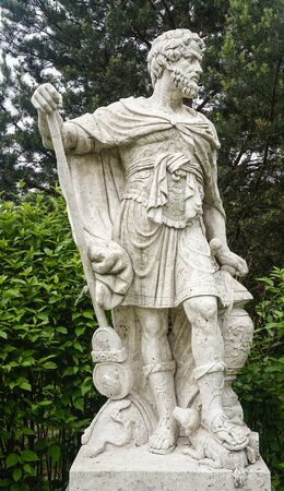Ancient Greek portrait statue