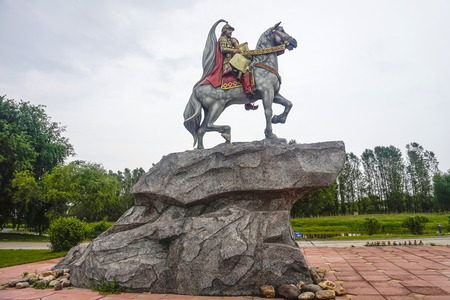 Knights love sculpture at volga manor