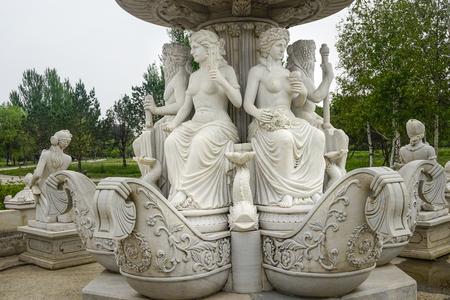 statue art at volga manor