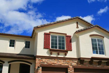 Close up d'une nouvelle maison. Banque d'images - 2706425