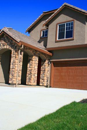 Close up d'une nouvelle maison. Banque d'images - 2744983