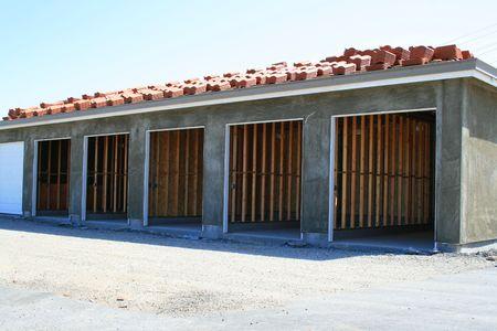 Garage Building Under Construction photo