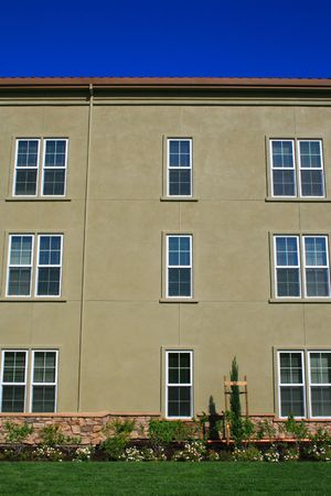 Close up of the windows of a building. Stock Photo - 2914111