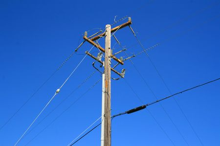 Telephone Pole Stock Photo - 2914088
