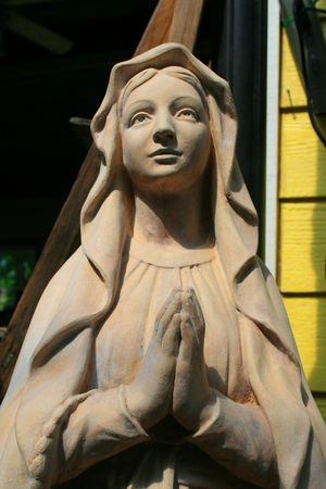 Statue of a Virgin Mary photo