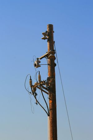 Telephone Pole Stock Photo - 3733346