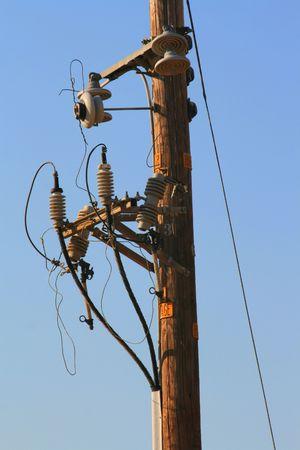 Telephone Pole Stock Photo - 3733353