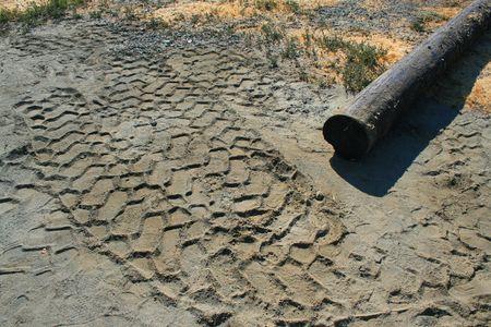 tire tracks: Tire Tracks