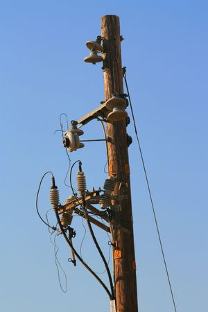 Telephone Pole Stock Photo - 3769576