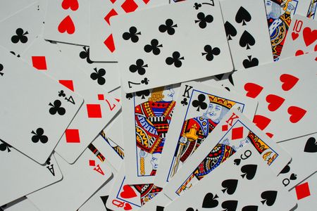 Group of Playing Cards Stock Photo - 3882094