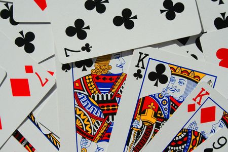 Group of Playing Cards Stock Photo - 3882093