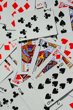 Group of Playing Cards Stock Photo - 3882092