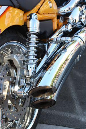 Motorcycle Reklamní fotografie