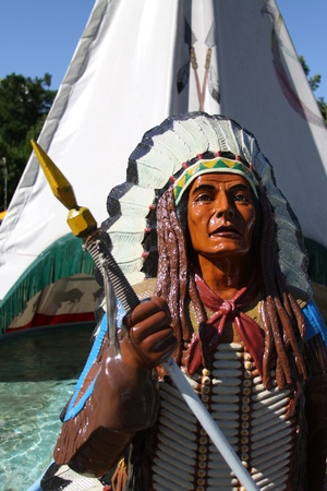 apache: Jefe indio Foto de archivo