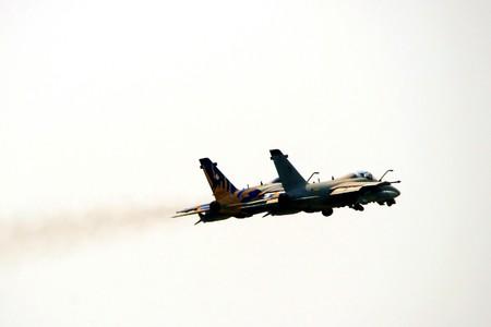 turbofan: avi�n de caza AMX de la aviaci�n italiana