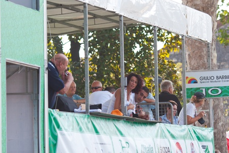 padania: mayor milena cecchetto at tour of padania