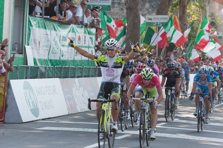 padania: guardini last stage wins tour of padania Editorial