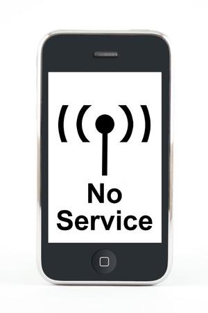 Smartphone displaying