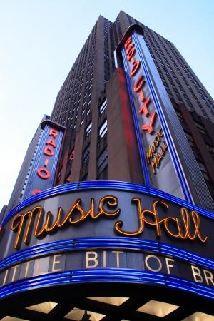 music hall: Radio City Music Hall Editorial