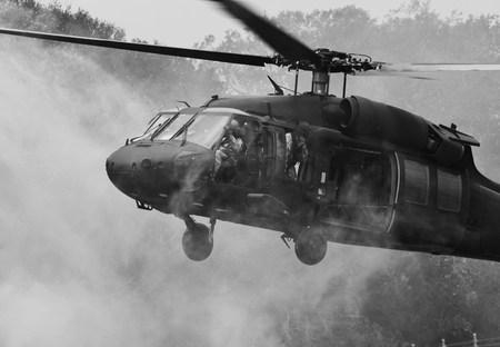 UH-60 ブラック ホーク ヘリコプター 写真素材