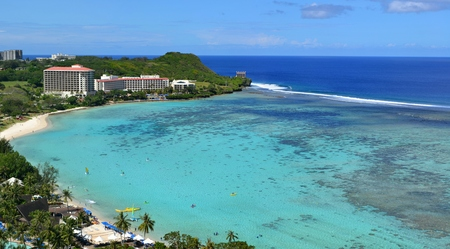 bay: Tumon Bay, Guam