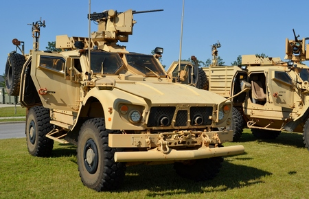 resistant: Mine Resistant Ambush Protected MRAP Vehicle Editorial