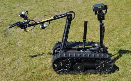 TALON Mijnopruimingsdienst Robot Redactioneel