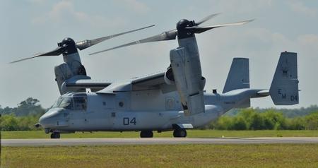 osprey: MV-22 Osprey on Runway
