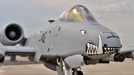 Air Force A-10 Warthog/Thunderbolt II Attack Jet